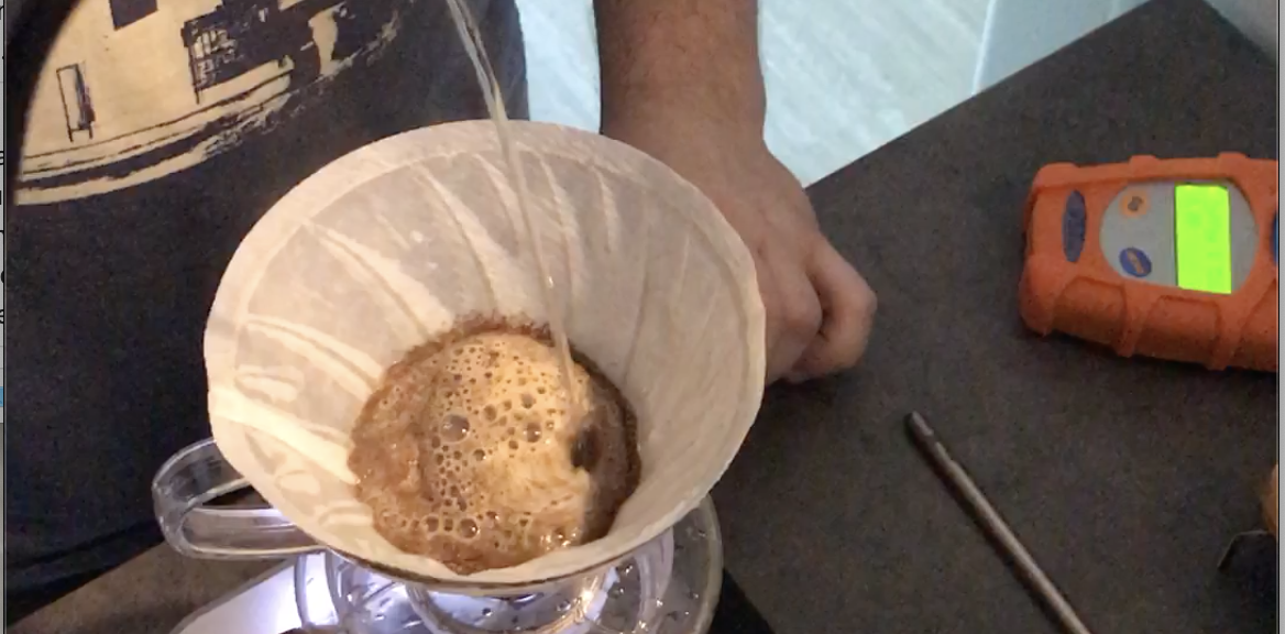 A V60 Pour Over Video